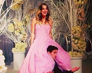 O γάμος της Penny του Big Bang Theory | vita.gr