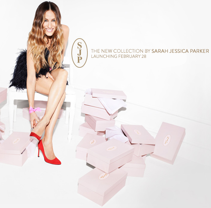 Επιτέλους! Η σειρά παπουτσιών της Sarah Jessica Parker | vita.gr