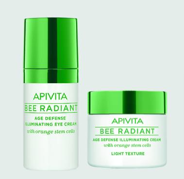 5 σετ αντιγήρανσης & λάμψης προσώπου, Bee Radiant της Apivita | vita.gr