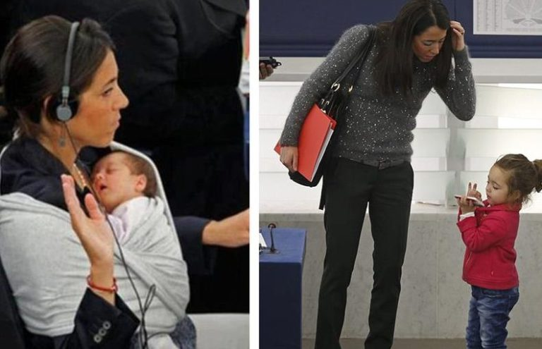 Από μικρή στο Ευρωκοινοβούλιο! | vita.gr