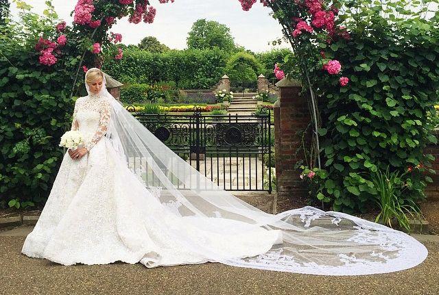O γάμος της Νίκι Χίλτον με τον Τζέιμς Ρόθτσαιλντ | vita.gr