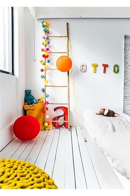 Παιδικό δωμάτιο με έντονα χρώματα | vita.gr