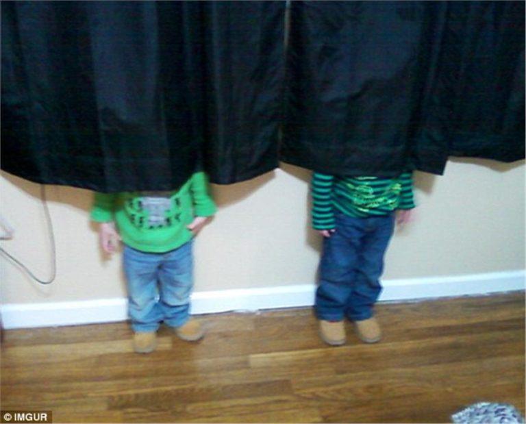 17 αστείες εικόνες: Παιδιά που.. κρύβονται   vita.gr