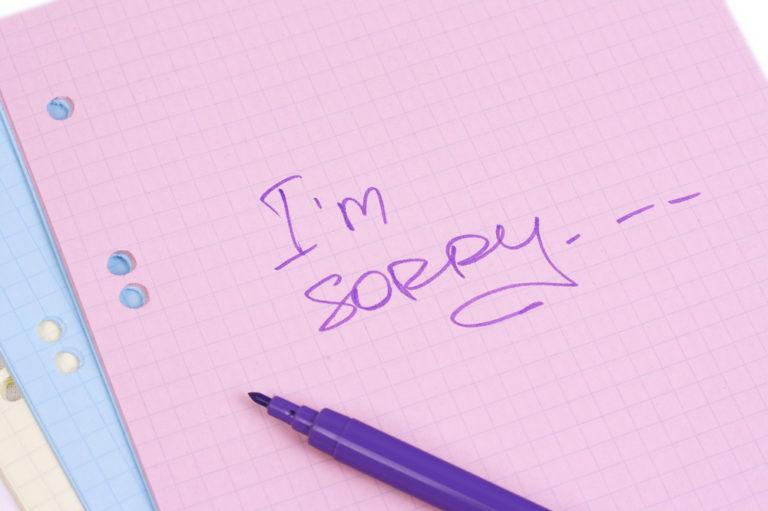 Η αποτελεσματική συγγνώμη | vita.gr