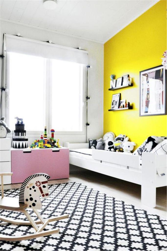 Παιδικά δωμάτια με κίτρινες πινελιές | vita.gr