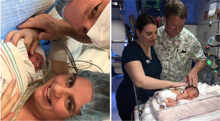Ιατρικό θαύμα: Το μωρό που γεννήθηκε δύο φορές (εικόνες)   vita.gr