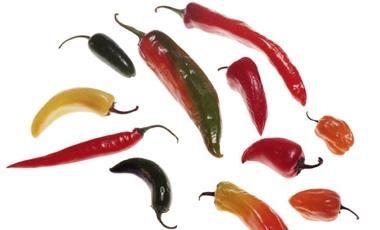 Aποξηραμένες πιπεριές σε  5΄   vita.gr
