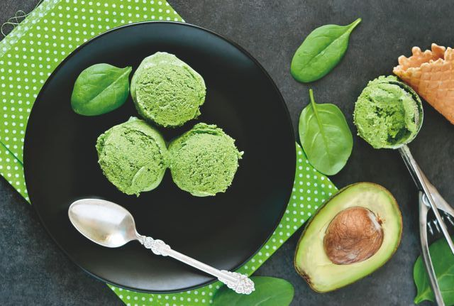 Παγωτό αβοκάντο με γάλα καρύδας | vita.gr