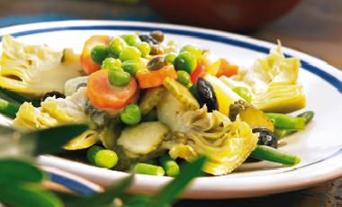 Αγκινάρες με λαχανικά λαδολέμονο | vita.gr