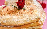 Αλμυρό Mille feuille με τυριά και πάπρικα | vita.gr