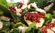 Σαλάτα με ψητό κοτόπουλο   vita.gr
