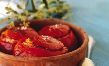 Ντομάτες γεμιστές με χταπόδι | vita.gr