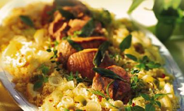 Κατσικάκι φούρνου σε αρωματική μαρινάδα | vita.gr