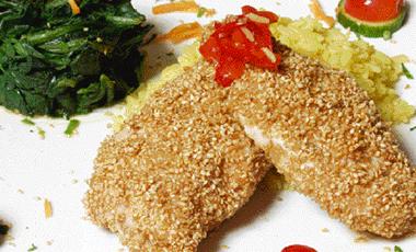 Κοτόπουλο με σουσάμι | vita.gr