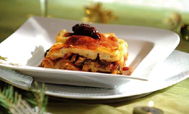 Λαζάνια µε άγρια µανιτάρια και ξερά σύκα | vita.gr