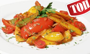 Πιπεριές με ντομάτες | vita.gr