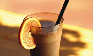 Shake σοκολάτας με ξύσμα πορτοκαλιού | vita.gr