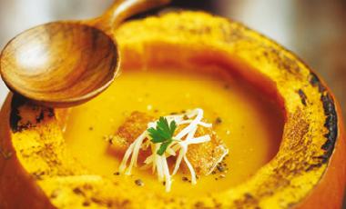 Σούπα βελουτέ γλυκιάς κολοκύθας | vita.gr