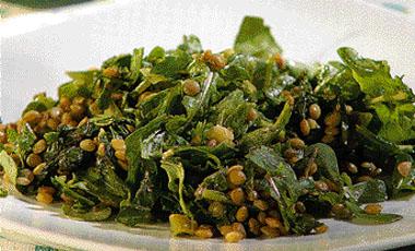 Σαλάτα με φακές και χόρτα | vita.gr