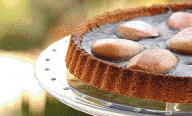 Τάρτα αχλάδια με σοκολάτα | vita.gr