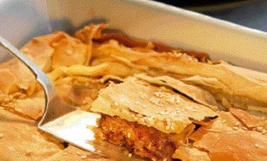 Mελιτζανόπιτα με καρυδόψιχα | vita.gr
