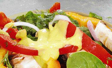 Σαλάτα σπανάκι με γουακαμόλε | vita.gr