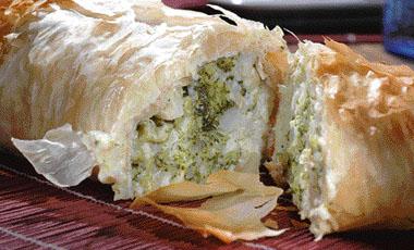 Στρούντελ με μπρόκολο και τυριά | vita.gr