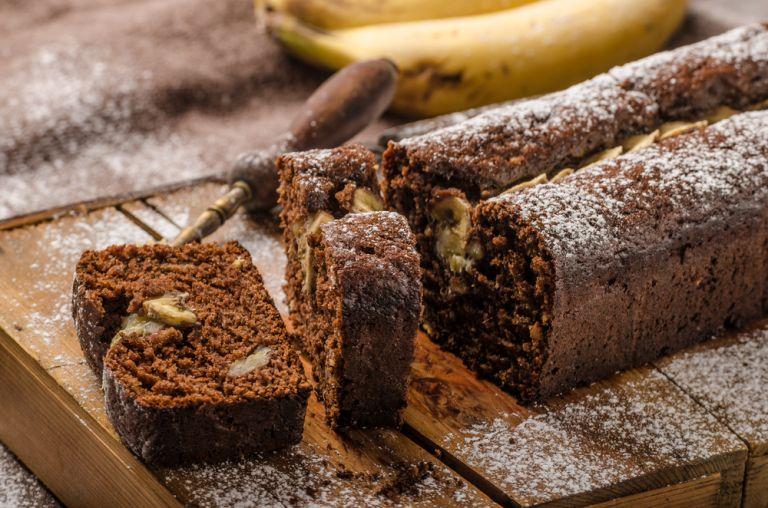 Σοκολατένιο κέικ με μπανάνες | vita.gr