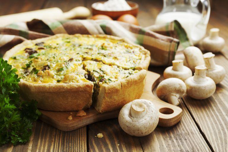 Συνταγή για την πιο νόστιμη μανιταρόπιτα | vita.gr