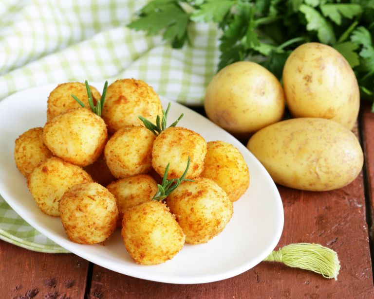 Πατατοκεφτέδες με τυρί | vita.gr