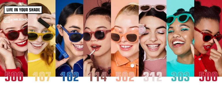 Sunglasses that match the shade  of your makeup! | vita.gr