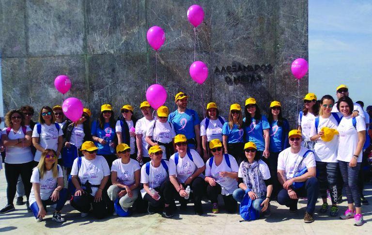 Η ομάδα της Τράπεζας Πειραιώς συμμετείχε στον φιλανθρωπικό αγώνα Sail for Pink | vita.gr