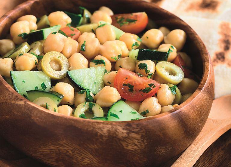 Μεσογειακή ρεβιθοσαλάτα | vita.gr