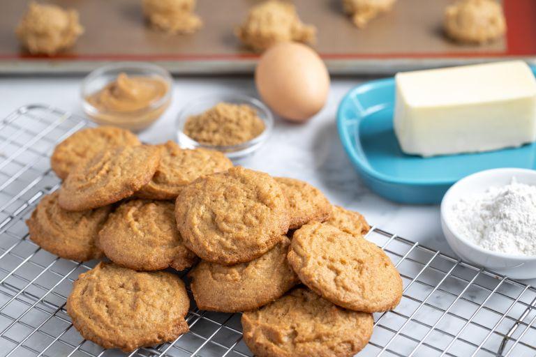 Μπισκότα βουτύρου με τρία υλικά | vita.gr
