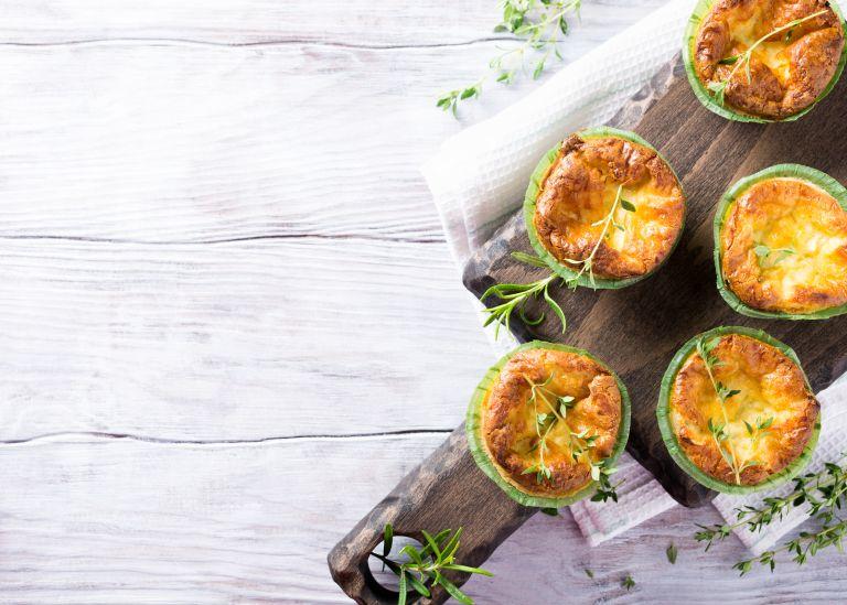 Μάφιν με κιμά γαλοπούλας και λαχανικά | vita.gr