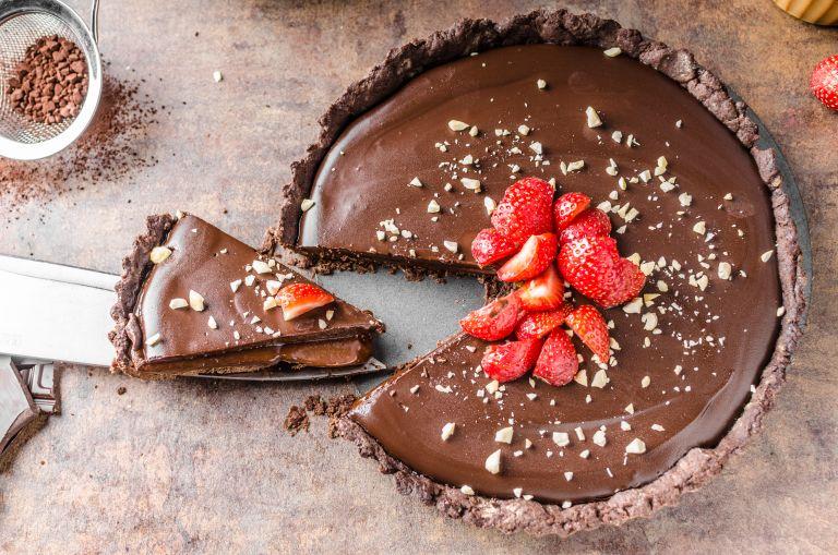 Λαχταριστή τάρτα σοκολάτας | vita.gr