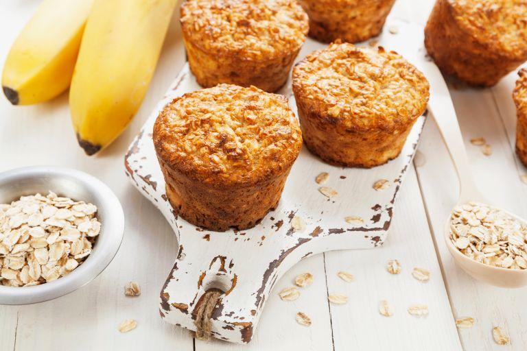 Λαχταριστά muffins με ώριμες μπανάνες | vita.gr