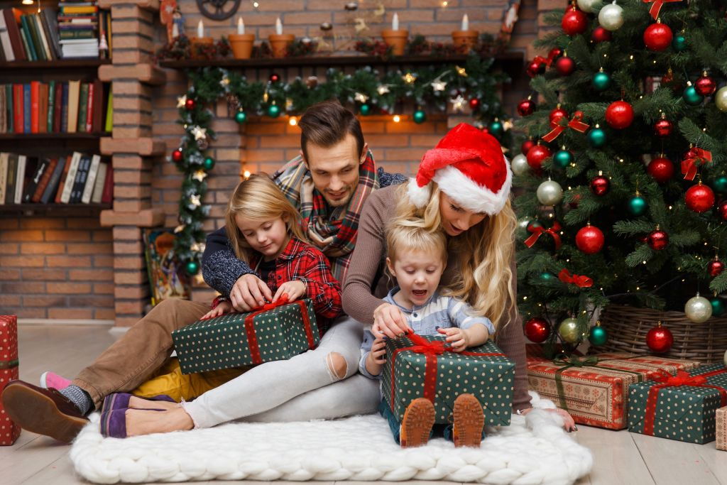 ideas creativas para fotos de tarjetas de navidad