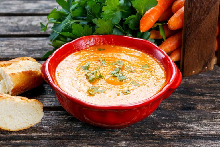 Σούπα με καρότο και τζίντζερ | vita.gr