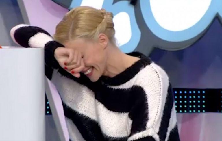 Επικό σαρδάμ: Γονάτισε η Ζέτα Μακρυπούλια από τα γέλια | vita.gr