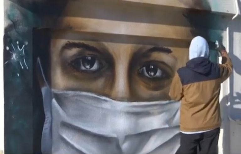 Τέχνη και κοροναϊός: Εκπληκτικά γκράφιτι για τη φονική πανδημία | vita.gr