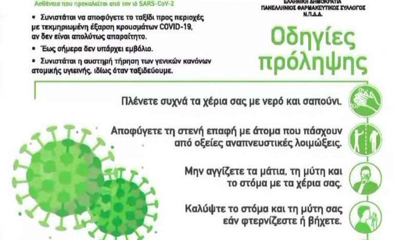 Ενημερωτικά φυλλάδια στα φαρμακεία για τον κοροναϊό – Είδος προς εξαφάνιση οι μάσκες   vita.gr