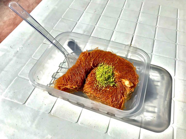 Παραδοσιακό κανταΐφι με φιστίκια Αιγίνης | vita.gr