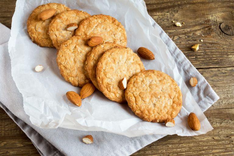 Cookies αμυγδάλου χωρίς ζάχαρη | vita.gr