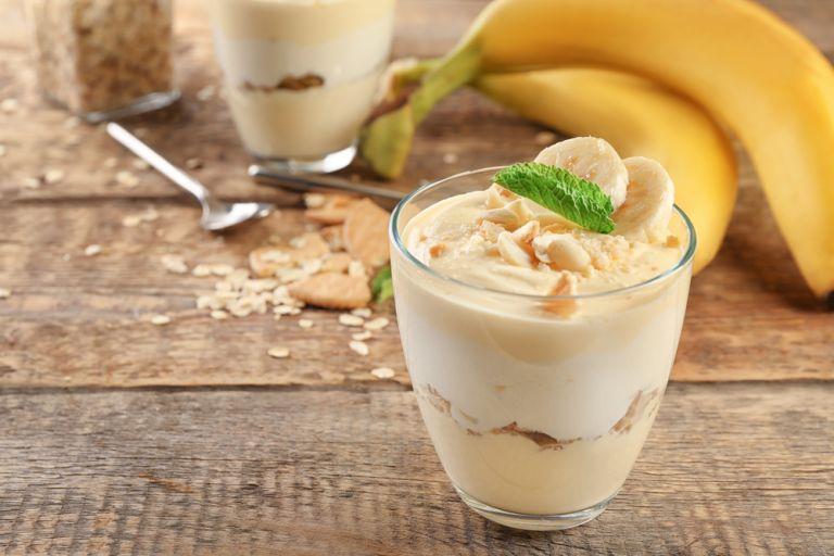 Λαχταριστή πουτίγκα μπανάνας με μπισκότα | vita.gr