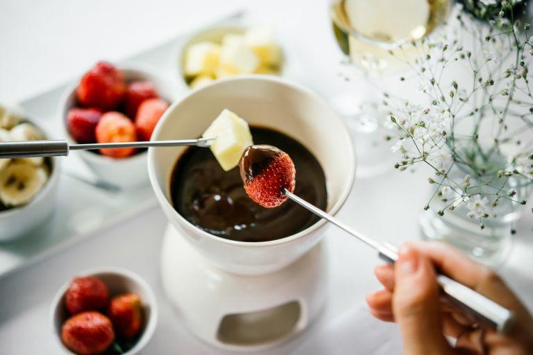 Fondue σοκολάτας   vita.gr