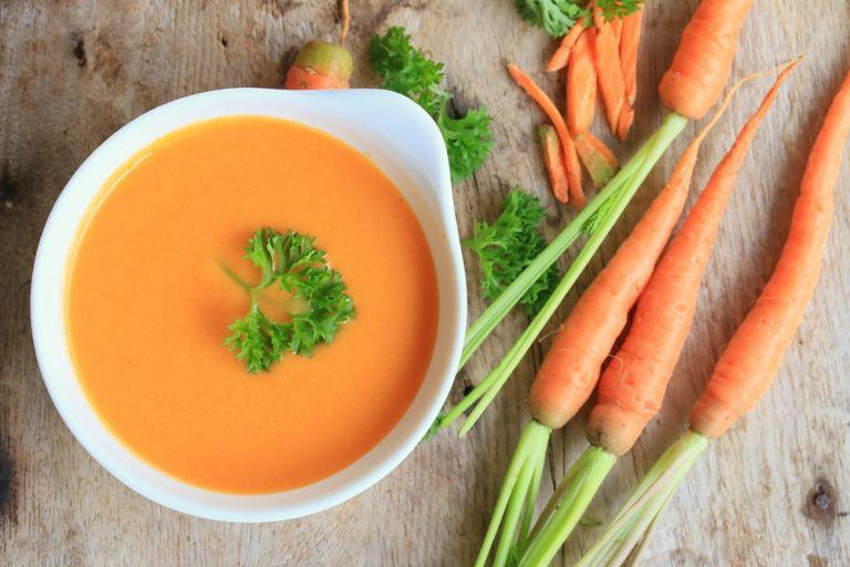 Σούπα καρότου με τζίντζερ | vita.gr