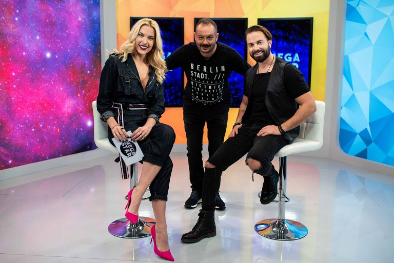 Ο Ηλίας Βρεττός το Σάββατο στο «MEGA STAR» με τη Μαντώ Γαστεράτου και τον Αντώνη Δημητριάδη   vita.gr