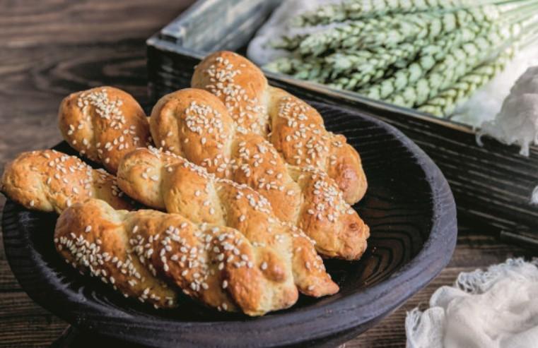 Κουλουράκια με σουσάμι και ελαιόλαδο | vita.gr