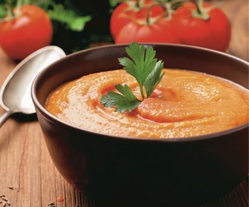 Νηστίσιμη σούπα βελουτέ με κόκκινες φακές   vita.gr